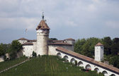 Munot fortification in Schaffhausen — Stock Photo