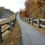 North Carolina Walking Trail — Stock Photo
