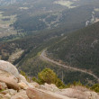 Above the Winding Mountain Road — Stock Photo #2420120