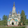 Orthodox russian church — Stock fotografie