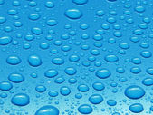 Close-ap water drops background — Stock Photo