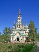 Chiesa russo ortodossa — Foto Stock