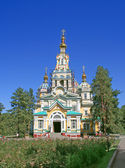 Russische orthodoxe kerk — Stockfoto