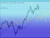 Graph business analyzing illustration — Stock Photo