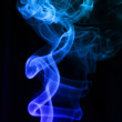 Smoke isolated — Stock Photo