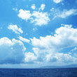 Cloudscape with  sea — Stock Photo