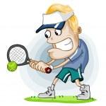 Постер, плакат: Tennis Match