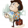 Royalty-Free Stock Vector Image: Lost in City