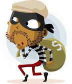 Criminal Thief Activity — Stock Vector