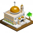 Mosque — Stock Vector