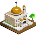 Mosque — Stock Vector
