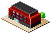 Building Isometric — Stock Vector