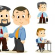 Shaking Hand. Business - Imagen vectorial
