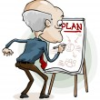 Business Plan — Image vectorielle