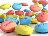 Computer pills — Stock Photo