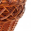 Woven basket — Stock Photo