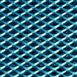Stock Photo: Texture of blue metal