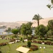 Oasis on the Nile - Stock Photo