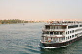 Cruise on the Nile river — Stock Photo
