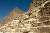 Egyptian pyramids — Stock Photo