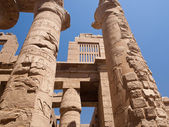 Part of a huge Karnak temle. — Stock Photo