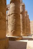 Huge Karnak columns. Egypt — Stock Photo