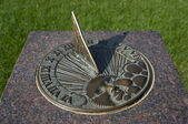 Bronze Sundial — Stock Photo