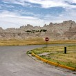 Badlands National Park — Stock Photo