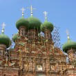 Reconstruction of Orthodox Church — Stock Photo