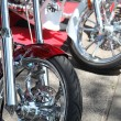 Motorcycle wheels — Stock Photo #1563691