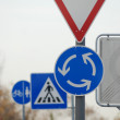 Stock Photo: Accumulation of traffic-signs in Germany