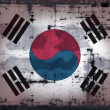 Royalty-Free Stock Photo: Grunge south korea