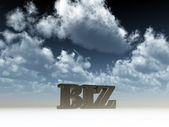 Biz domain — Stockfoto