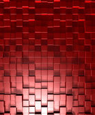 Red cubes — Foto Stock