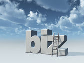 Biz domain — Stock Photo