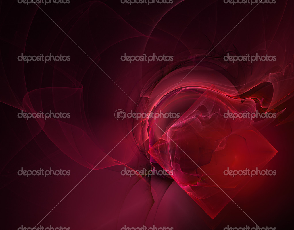 Abstract background with rectangle on black - illustration — Stock Photo #1566081