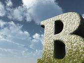 Big b — Stock Photo