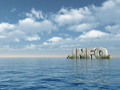 Info — Stockfoto