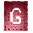 Stock Photo: Cubes makes letter g