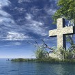 Christian cross - Stock Photo