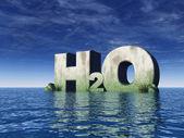 H2o — Stock Photo