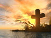 Holy cross — Stock Photo