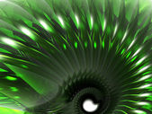Green abstract thing — Stock Photo