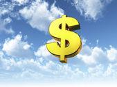 Heavenly dollar — Stock Photo