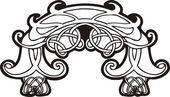 ケルト族の装飾品 — ストックベクタ