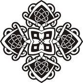 Ornamentos del celtas — Vector de stock