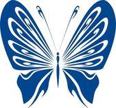 Illustrazione vettoriale di farfalla — Vettoriale Stock