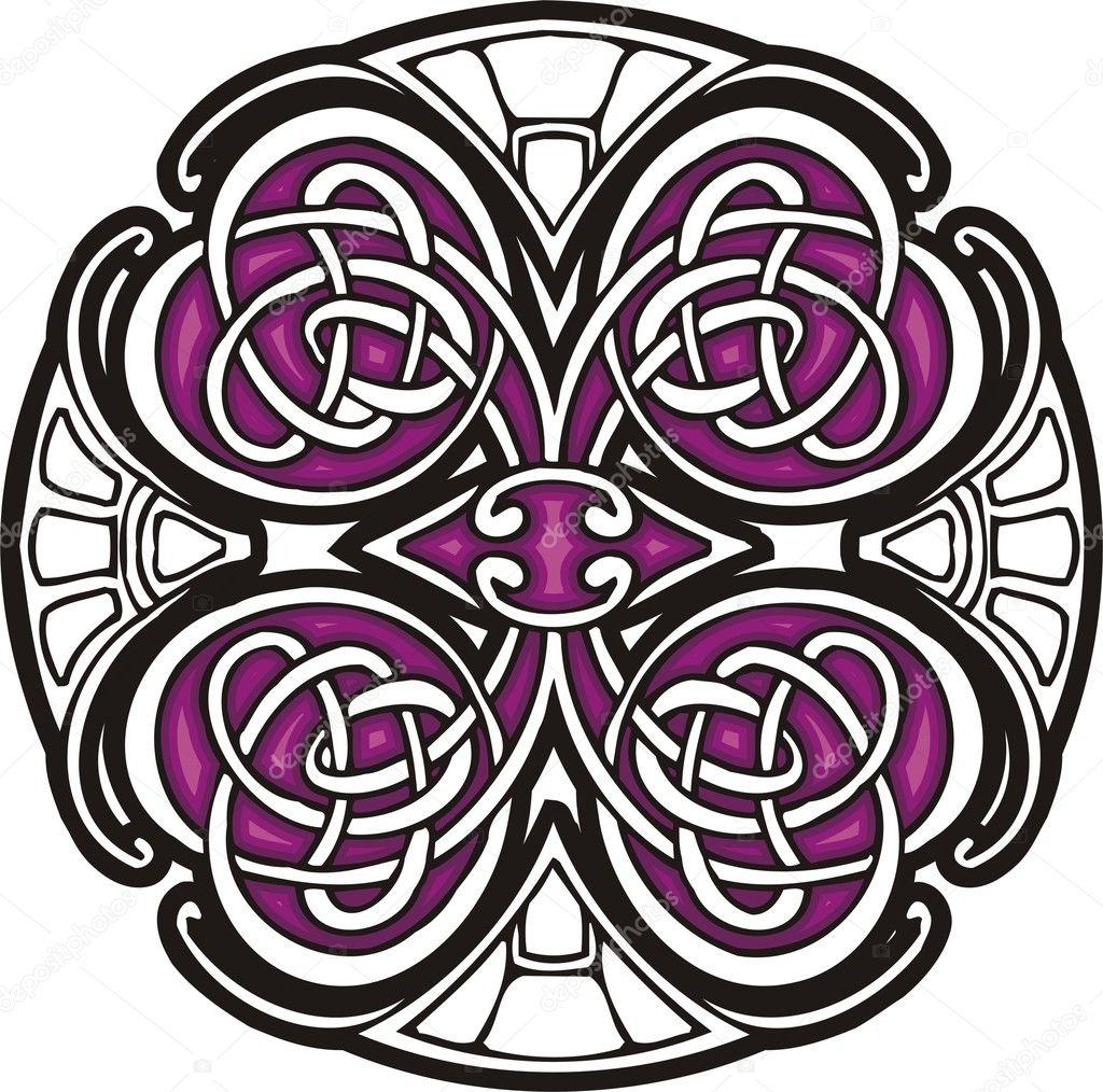 Векторные клипарты на тему Кельтские орнаменты для Adobe Illustrator и Corel в формате AI, EPS
