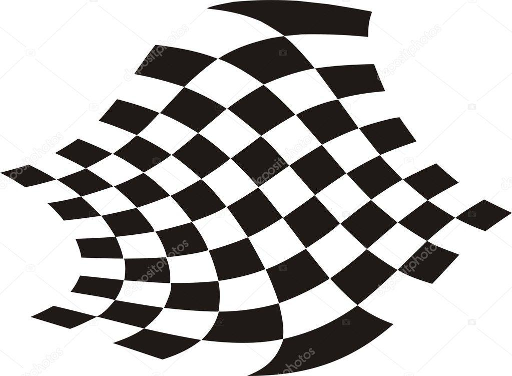 赛车旗帜 — 图库矢量图像08 razastock #1539197