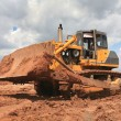 The heavy building bulldozer — Stock Photo